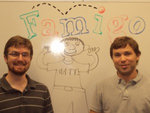 Famigo lets families play together safely on small screens
