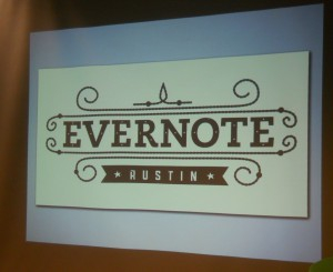 Evernote Austin's open house