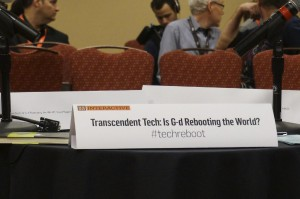 One of my favorite talks during SXSW: Transcending Tech: Is G-d Rebooting the World, with Rabbi Mordechai Lightstone from Lubavitch.com