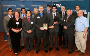 Leto Solutions won first place in the UTSA CITE $100,000 Student Technology Venture Competition