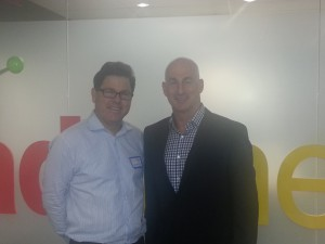Paul Pellman, Adometry's CEO and Casey Carey, chief marketing officer