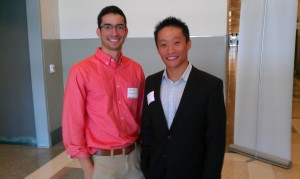 Ramon Coronado and Tony Yuan at the UTSA Entrepreneurial Bootcamp