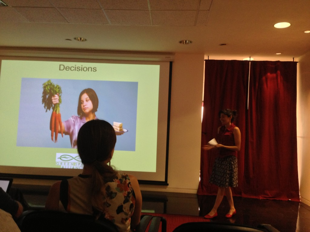 Green Spaces Alliance pitching its cookbook and app tied to locally grown food