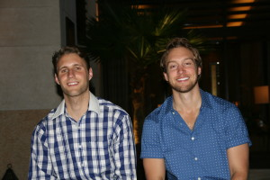 Andrew Tuffin and Sam Kessler, co-founders of Access the Night.