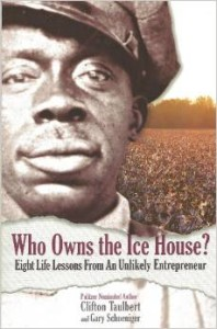 Uncle Cleve is shown on the cover of the Who Owns the Ice House book.