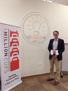 Kauffman Foundation's 1 Million Cups Launches at Cafe Commerce in San Antonio