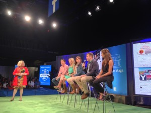 The Austin small business panel at Facebook Fit
