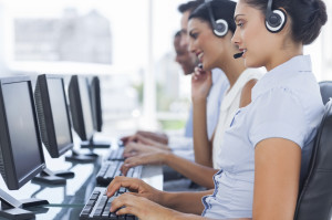 Call Center workers, photo licensed from iStockPhotos.com