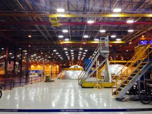 Inside the Michoud Assembly Facility, photo by Laura Lorek