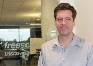 David Kramer, director of the Freescale Discovery Lab, photo courtesy of Freescale