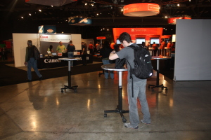 Spiceworks's exhibition hall