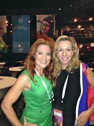 Ingrid Vanderveldt (left) with Elizabeth Gore at the Dell Women's Entrepreneur Network conference in Austin in June.  Gore is the new Entrepreneur in Residence at Dell.