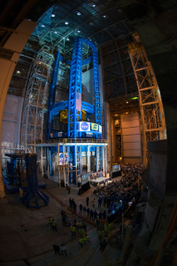 The Vertical Assembly Center at Michoud, photo courtesy of NASA
