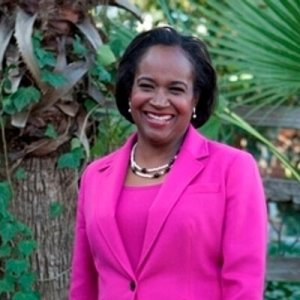 Sheryl Cole, picture courtesy of her campaign for Austin mayor.