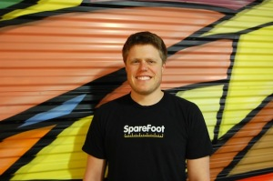 Chuck Gordon, CEO and Co-Founder of SpareFoot, courtesy photo by SpareFoot