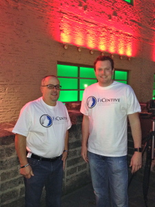 Louis Hoch and Houston Frost. Payment Data Systems just bought Frost's company, Akimbo Financial.