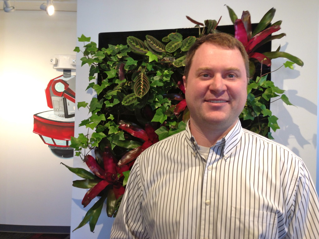 Nathan Roach, CEO of Mass Venture, an equity-based crowdfunding portal in Texas