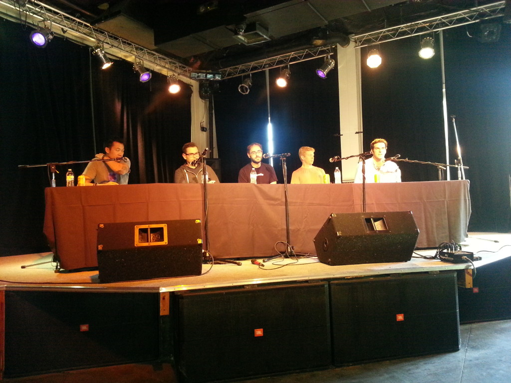 Y Combinator Austin Panel, photo by Susan Lahey