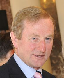 Ireland Prime Minister Enda Kenny, photo from Wikipedia.