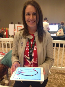 Jodi Mixon with Ozobot