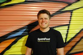 SpareFoot CEO and Co-Founder Chuck Gordon, photo courtesy of SpareFoot