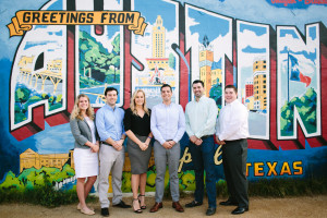 The Betts Recruiting Team in Austin, photo courtesy of the company.