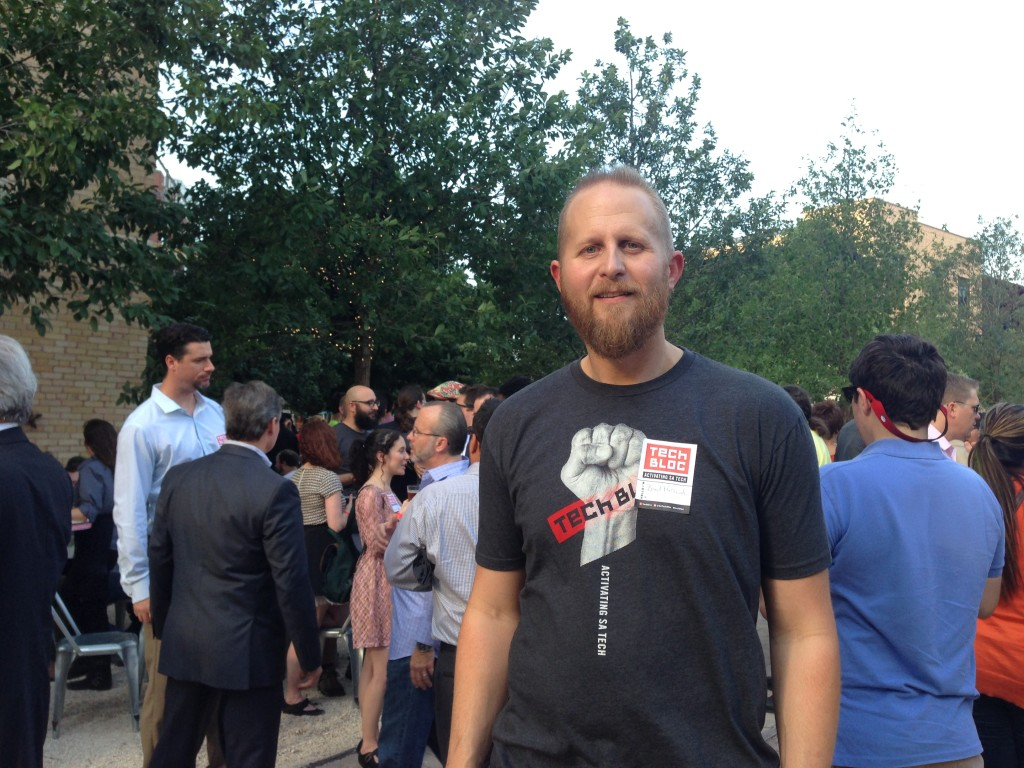 Brad Parscale, one of the organizers of SATechBloc
