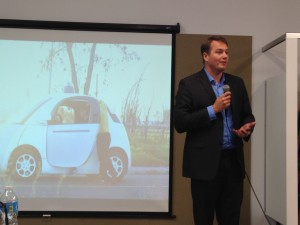 Chris Urmson, Director, Google Self-Driving Car Project, talks about the benefits of Google's self-driving cars.