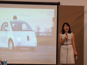 Jennifer Haroon, Head of Business Operations, Google Self-Driving Car Project, says the cars have performed well in Austin for the past two months.