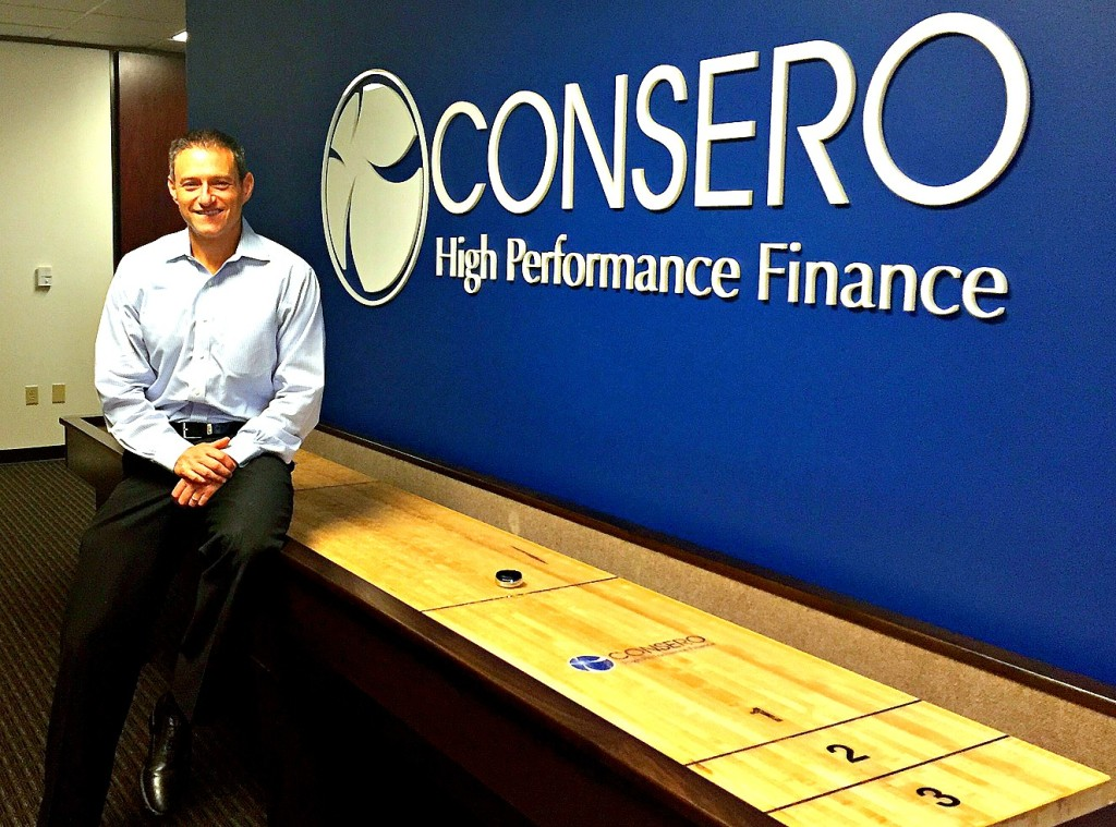 Bill Klein, Consero's President and Co-Founder at the company's Austin headquarters, courtesy photo.