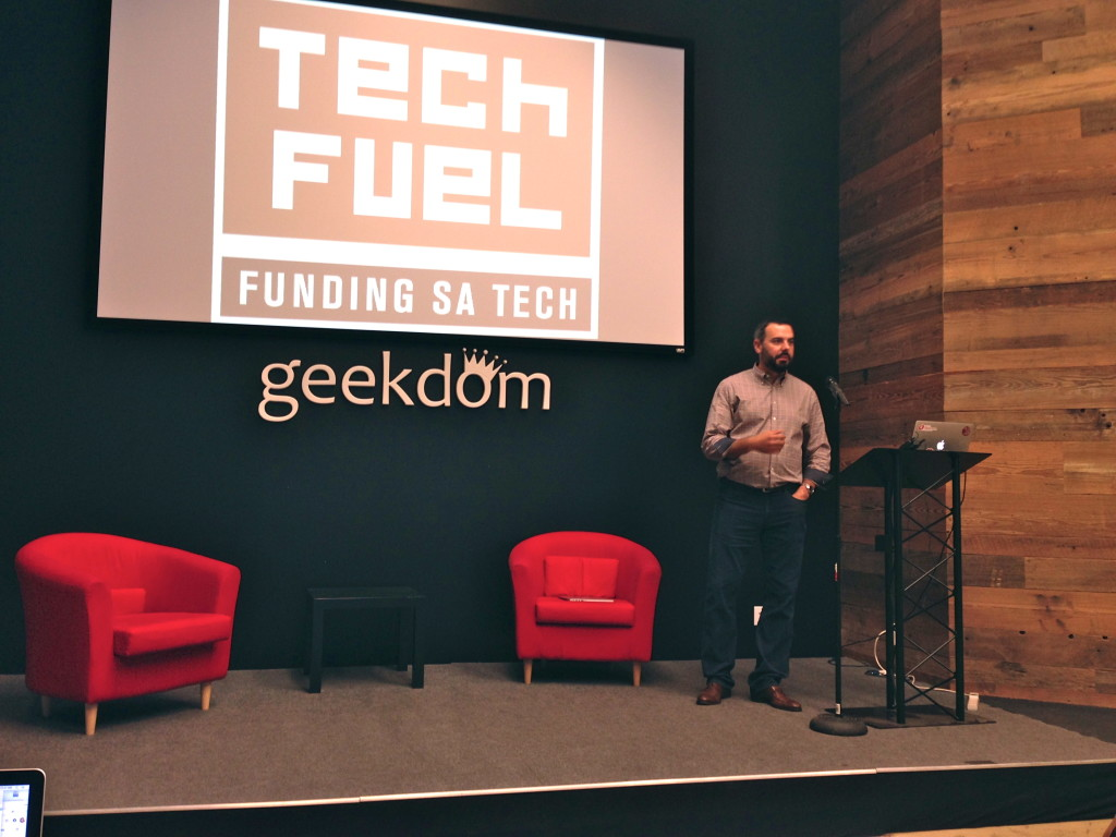 Blake Yeager, managing director Techstars Cloud and director of the Tech Fuel competition.