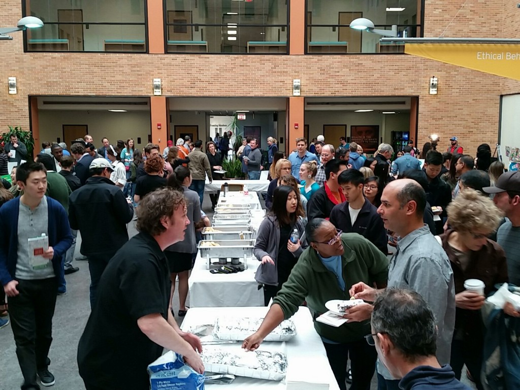 The crowd at the Food+City Challenge Prize 2016 event