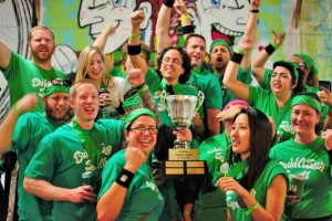 BuildASign won the inaugural Startup Games: Level Up competition. Photo courtesy of Startup Games.