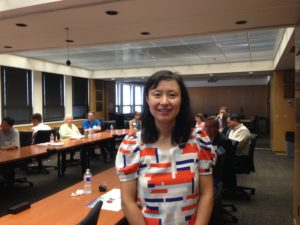 UT Austin Professor Lili Qiu presents CAT, a mobile tracking user interface device to replace a mouse.