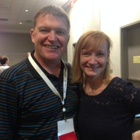 Carol O'Brien, founder and chief executive officer of Get Involved and Michael Wisor, founder and chief operating officer