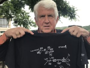 Internet Pioneer Bob Metcalfe Celebrates Ethernet's 46th Anniversary